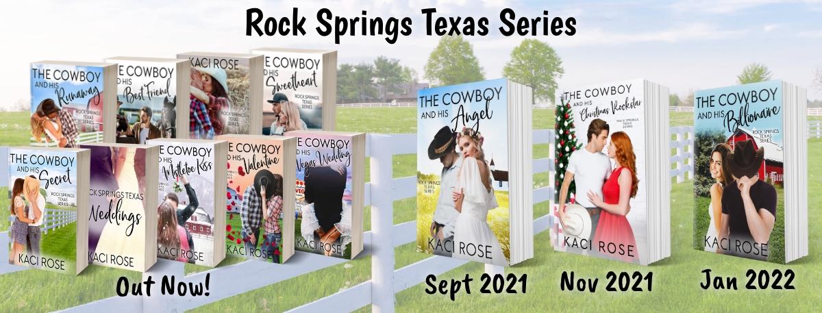 Rock Springs 11 books coming soon