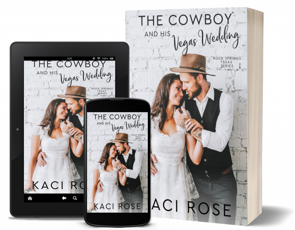 The Cowboy and His Vegas Wedding - covers