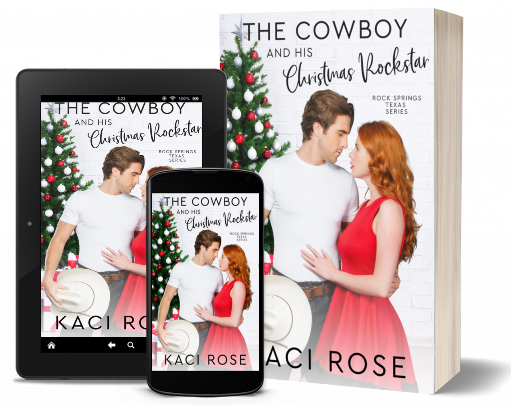 The Cowboy and His Christmas Rockstar - 3D covers