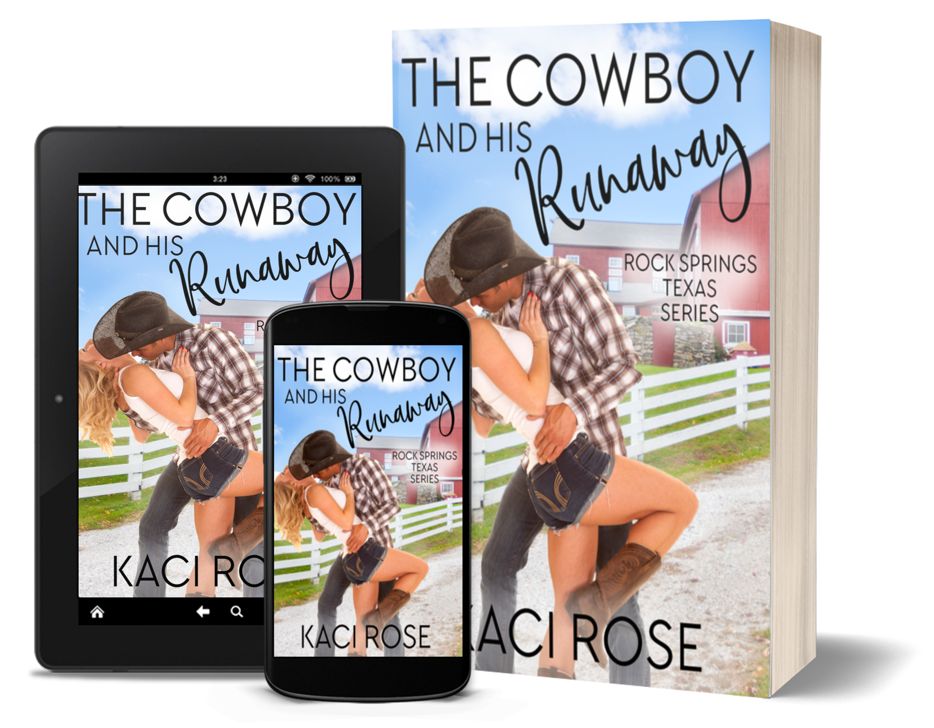 The Cowboy and His Runaway - 3D covers