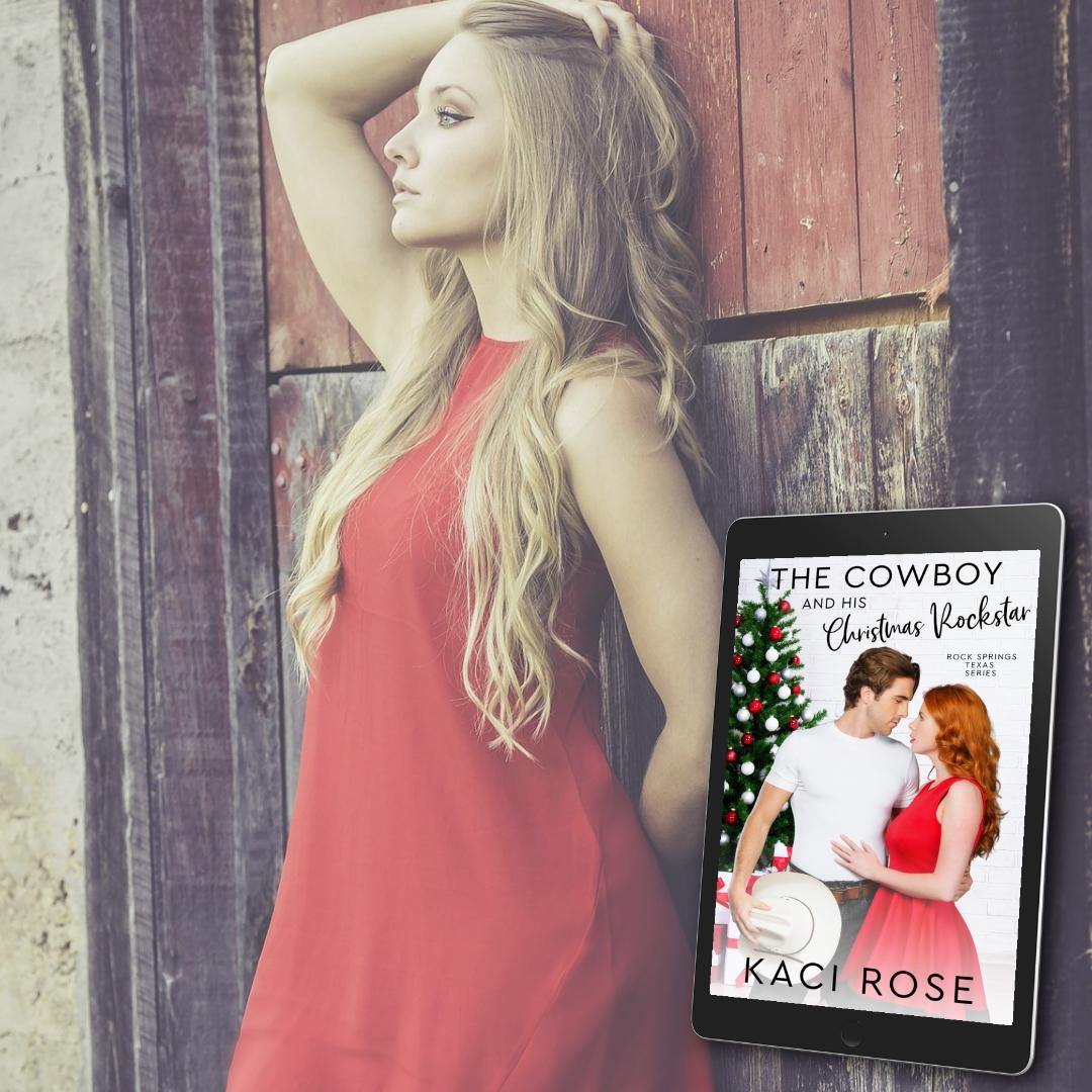 The Cowboy and His Christmas Rockstar - banner