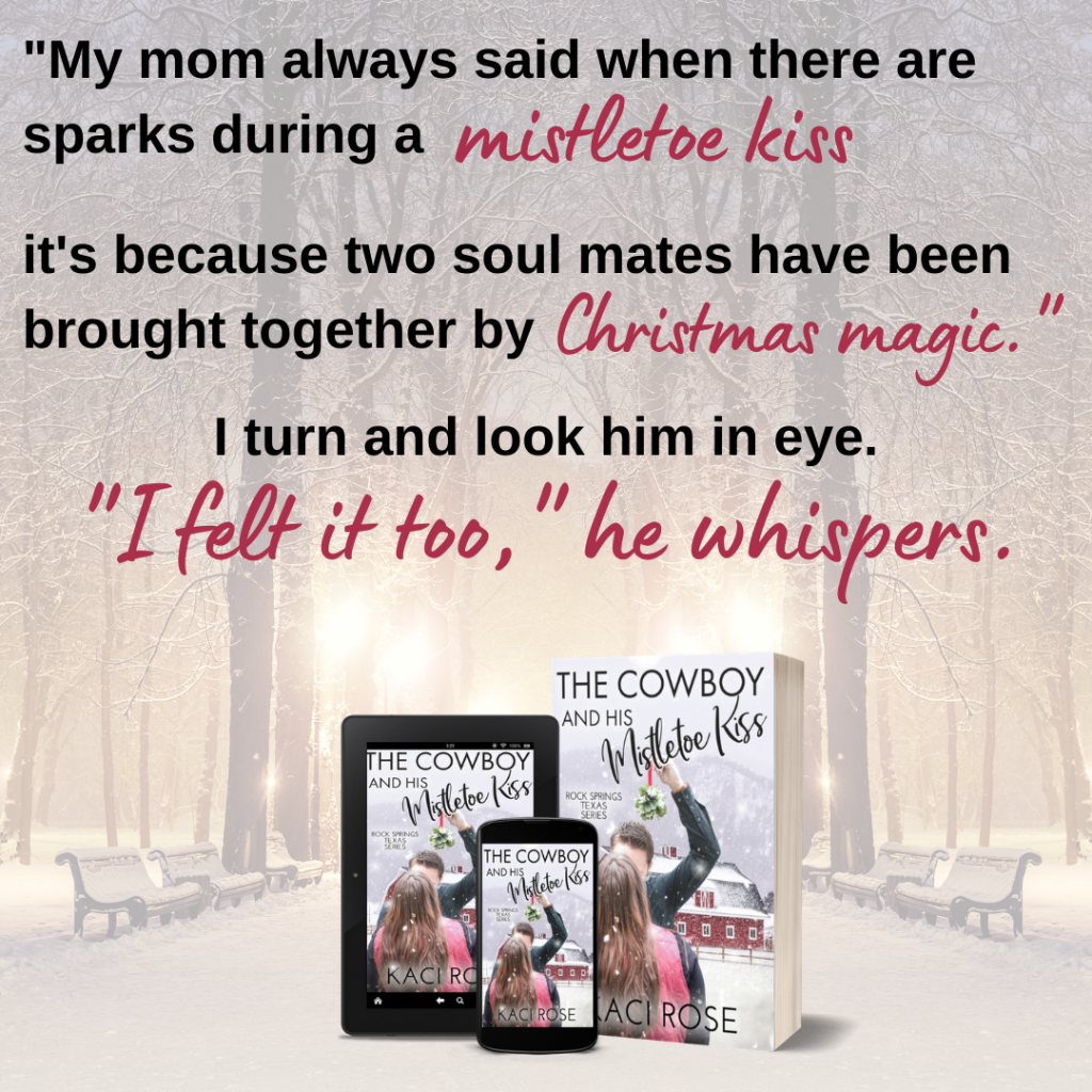 The Cowboy and His Mistletoe Kiss - banner