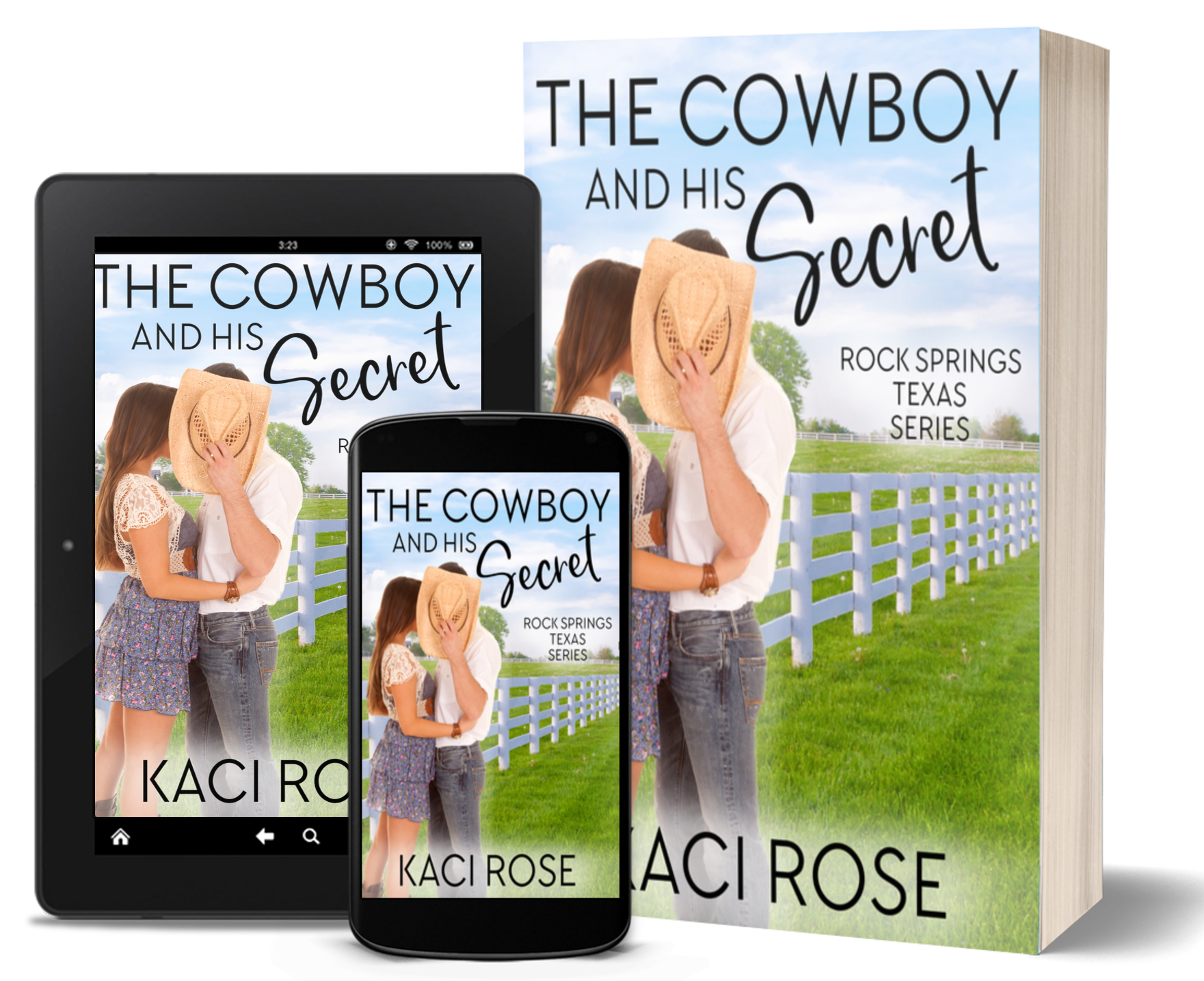 The Cowboy and His Secret - covers